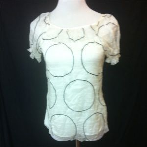 Kay Unger Sheer Blouse